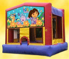 Dora The Explorer Theme - 15' x 15' - A Fun Theme For The Girls!